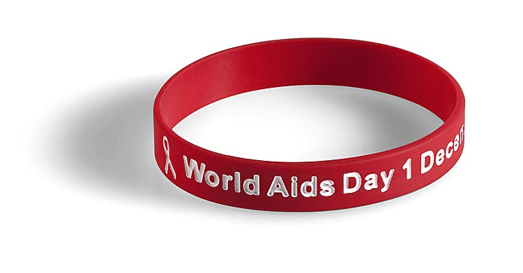 Aids Day Merchandise Wristband